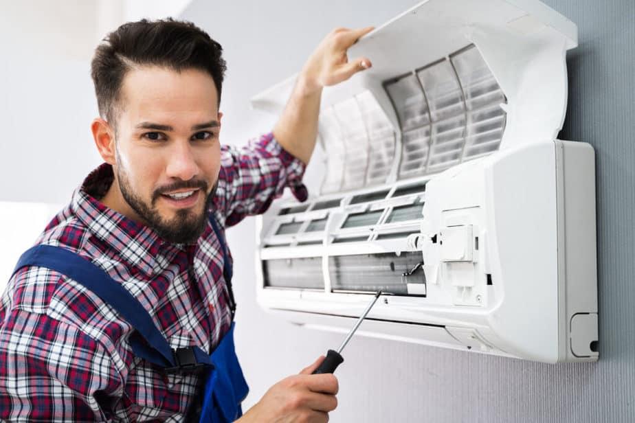 Airconditioning onderhouden: Werkwijze