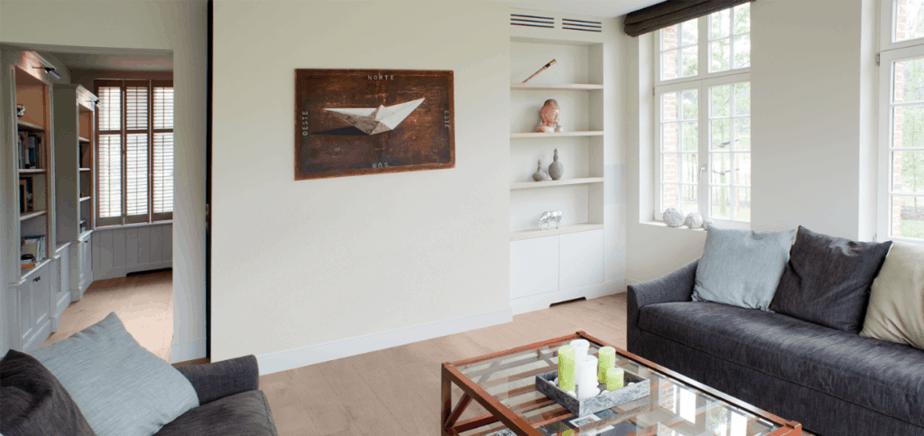 Inbouw airco thuis boven de kast © Daikin